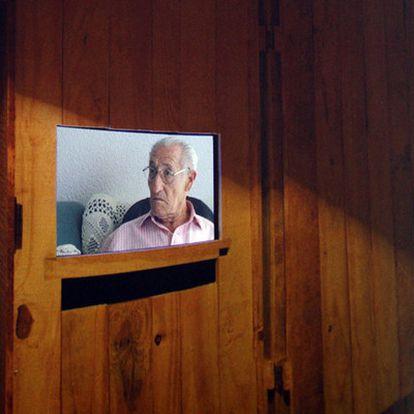 Uno de los montajes de Xavier Alcàcer en La Llotgeta.