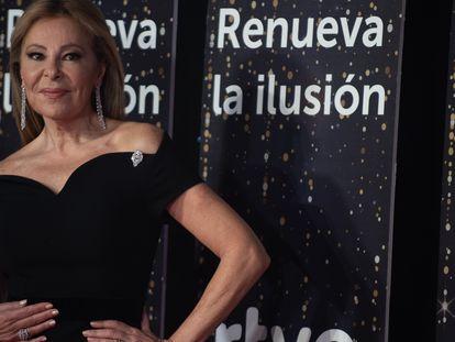 Ana García Obregón, en la presentación de la programación de Navidad de RTVE el pasado 18 de diciembre.
