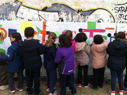 Actividad del proyecto Levadura en Madrid en 2016.