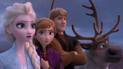 Una imagen de 'Frozen II'.