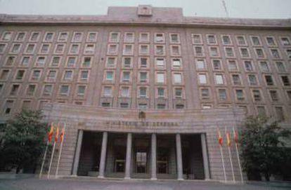 Sede central del Ministerio de Defensa en Madrid.