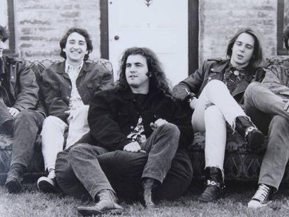Los miembros de la banda mallorquina La Granja.