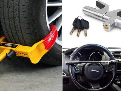 Estos dispositivos se fijan a las ruedas o al volante en cuestión de segundos y se retiran fácilmente.