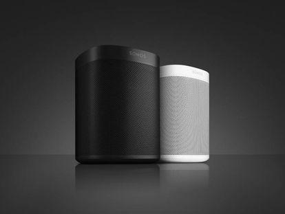 El nuevo altavoz inalámbrico Sonos One integra Alexa para controlar la música y el sistema multihabitación por la voz.