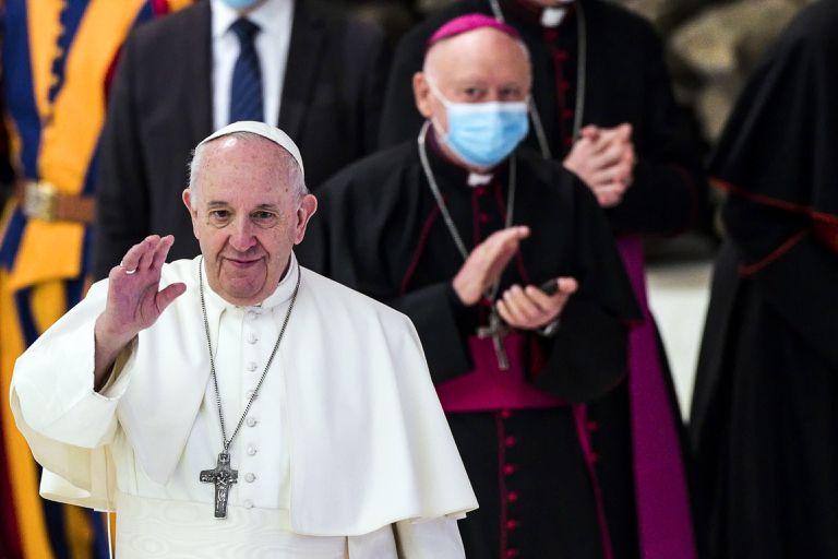 El papa Francisco en una audiencia en el Vaticano el 21 de octubre.