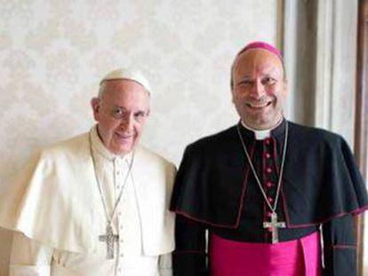 El Papa y Coppola, nuevo nuncio en México.