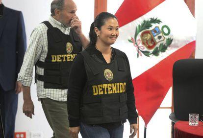 Keiko Fujimori, hija del expresidente Alberto Fujimori, en 2018.