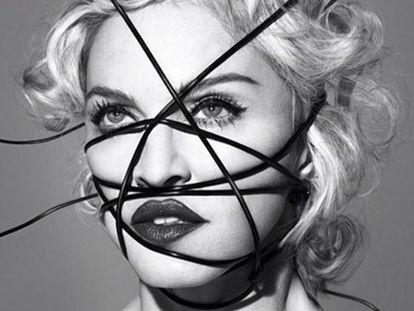 Portada del 'Rebel Heart', el último disco de Madonna.