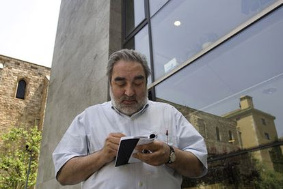 Eduardo Souto de Moura, en la Biblioteca de Cataluña.