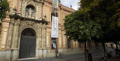 Museo de Bellas Artes de Sevilla, pendiente de ampliación.