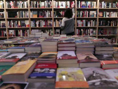 Libreria Cervantes y compañia, en Madrid.