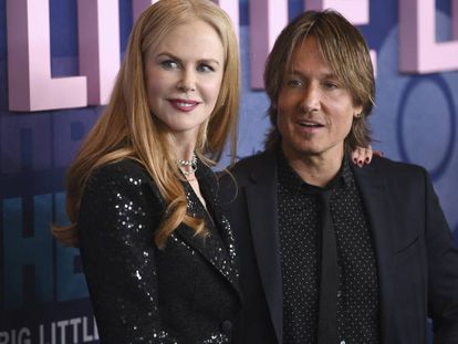 Keith Urban y Nicole Kidman.