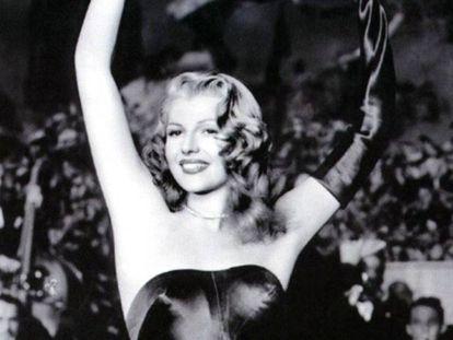 Rita Hayworth, en 'Gilda'.