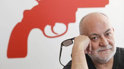 Gerardo Vera, escenógrafo, figurinista, actor y director de cine y de teatro español, en el Teatro María Guerrero