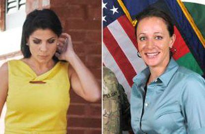 Jill Kelley y Paula Broadwell