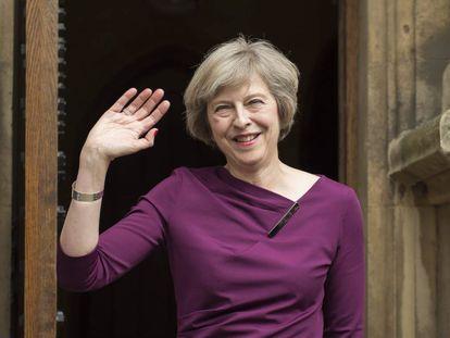 Theresa May, candidata a primera ministra británica.