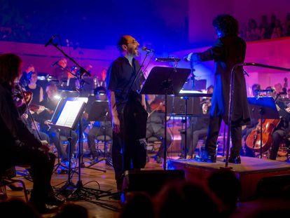 Jota, en un concierto de Los Planetas y OCG hace un año.
