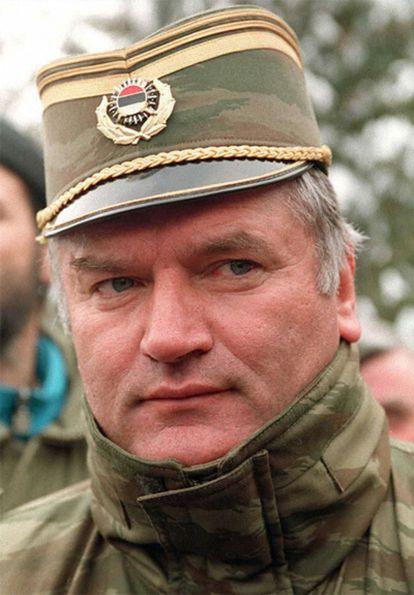El comandante del ejército serbobosnio, general Ratko Mladic, en una imagen de febrero de 1994.