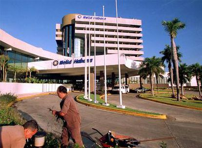 El hotel Habana en Cuba.