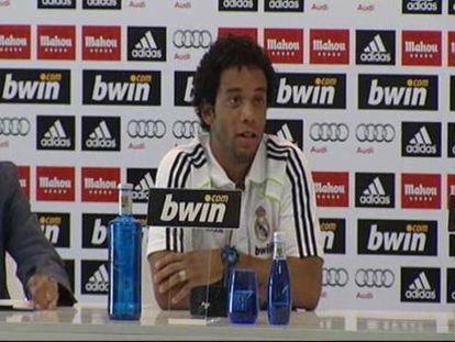 """Marcelo: """"Con Mourinho los entrenamientos son más agresivos"""""""