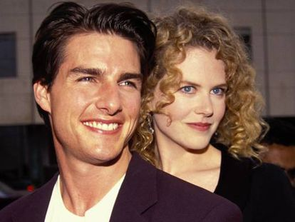 Los actores Nicole Kidman y Tom Cruise.