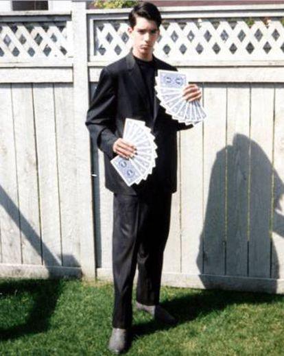 Jonathan Scott en sus años de mago. |