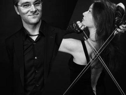 Cartel del concierto de Dani Espasa y Lina Tur Bonet.