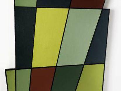 Irregular frame nº 2 (1946), del artista argentino Juan Melé, de la colección Patricia Phelps de Cisneros.