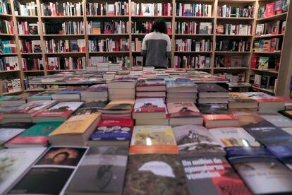 Librería Cervantes y compañia, en Madrid.