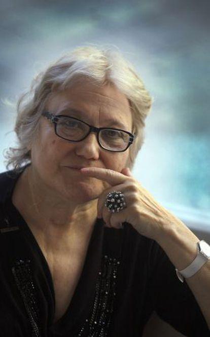 L'escriptora Isabel-Clara Simó.