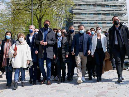 Destacados representantes de la izquierda francesa se reunieron el sábado en París para buscar unir fuerzas de cara a las presidenciales de 2022.