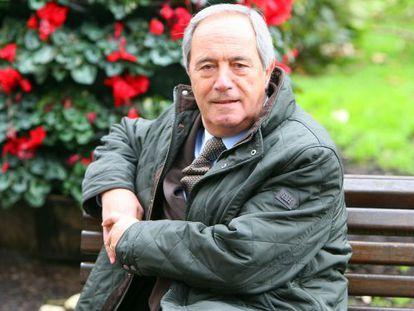 Roberto Velasco, durante su entrevista en Bilbao.