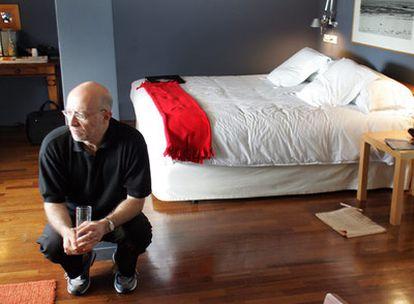 Tony Judt, fotografiado en Madrid en octubre de 2006, dos años antes de que le diagnosticaran la enfermedad.