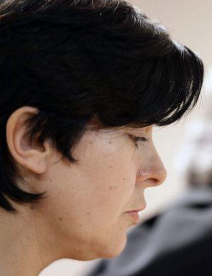Rosario Porto pincipal acusada junto a su ex marido, Alfonso Basterra, de la muerte de su hija Asunta Basterra, durante el juicio.