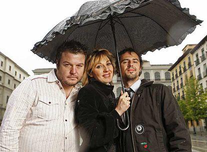 Íñigo González, Ania Iglesias y Koldo Sagastizábal participaron en el primer <i>reality</i> de España, <i>Gran Hermano.</i>