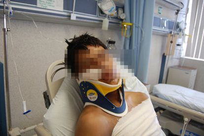 El ciudadano ecuatoriano que sobrevivió a la matanza.