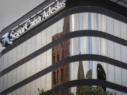Sede de la empresa Adeslas en Barcelona.