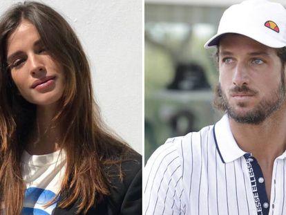 La modelo Sandra Gago y el tenista Feliciano López.