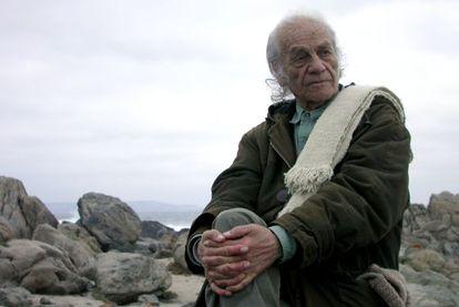 Nicanor Parra en su casa de Las Cruces en 2009.