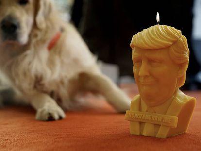 La vela de Trump, en una foto promocional.