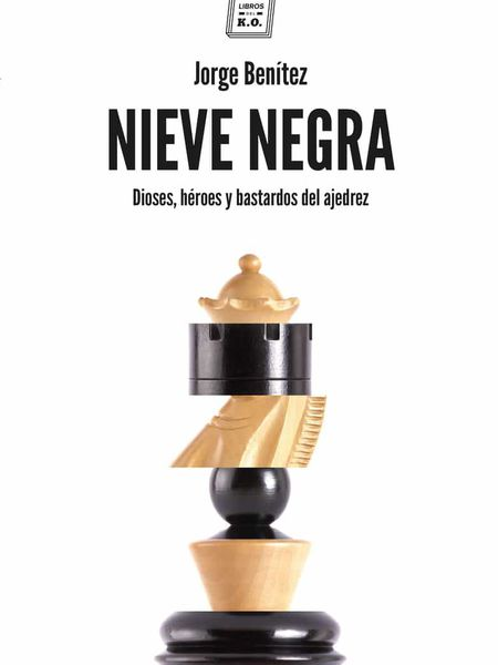 Portada del libro 'Nieve negra', de Jorge Benítez