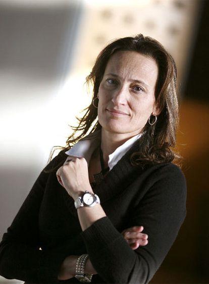 Teresa Táboas, en las dependencias de la Consellería de Vivenda.