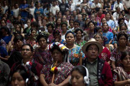 La étnia maya Ixil fue una de las que sufrió con mayor brutalidad la violencia asesina del dictador Ríos Montt.