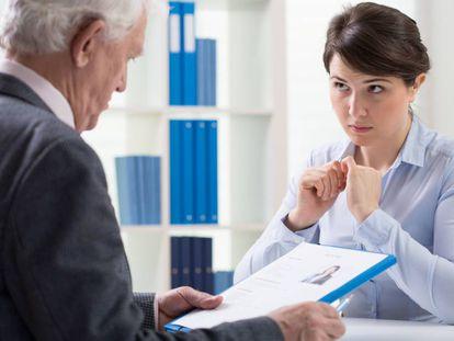 Ser mujer y estar en la treintena es para ciertos entrevistadores una señal de peligro.
