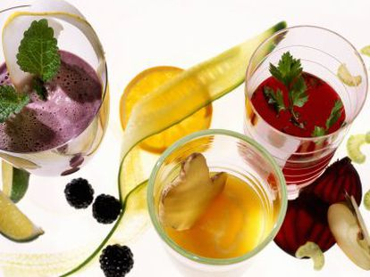 Mitos y verdades de los zumos de frutas y verduras