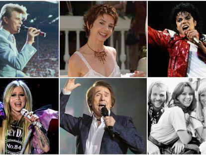 David Bowie, Victoria Abril, Michael Jackson, Avril Lavigne, Raphael y Abba son algunos de los artistas que se atrevieron a interpretar canciones en un idioma que no es el suyo, aunque el resultado no siempre ha sido óptimo.