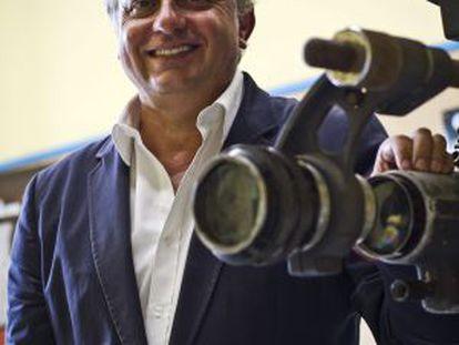 El director del Festival de Cine Iberoamericano, Pedro Castilla.