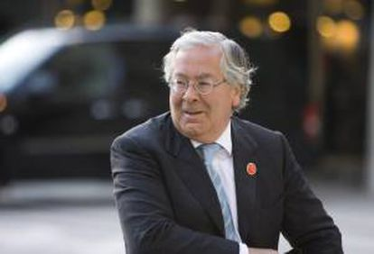 El gobernador del Banco de Inglaterra, Mervyn King. EFE/Archivo