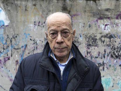 Luis Suárez, en una calle del barrio donde vive en Milán.