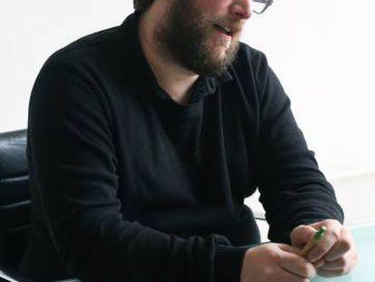 El eurodiputado Miguel Urbán, del sector Anticapitalistas.